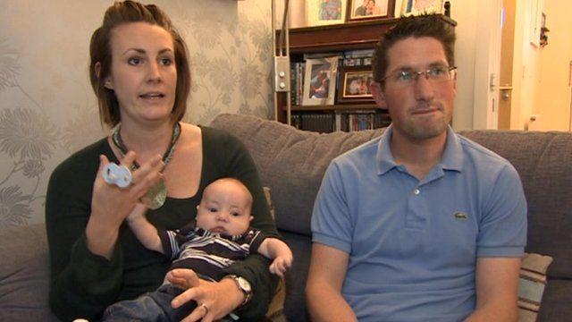 Clark Hasler with parents