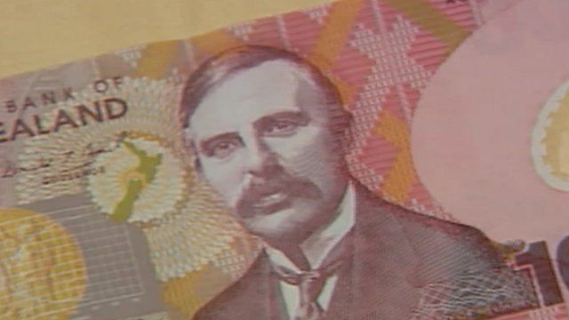 New Zealand banknote
