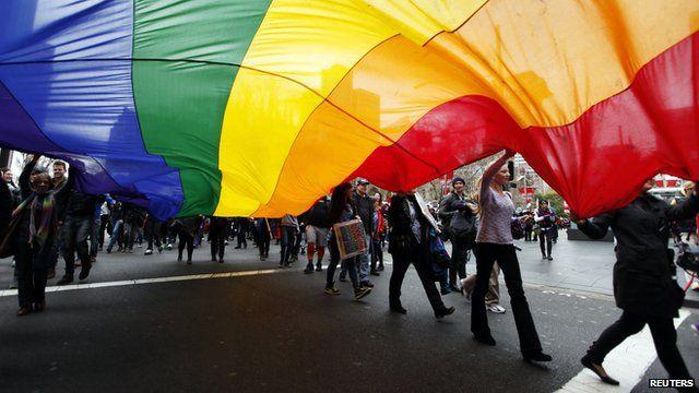 gay rights activists
