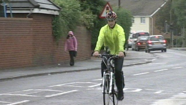Alan Spink cycling