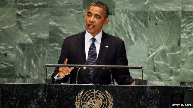 Barack Obama addresses UN General Assembly