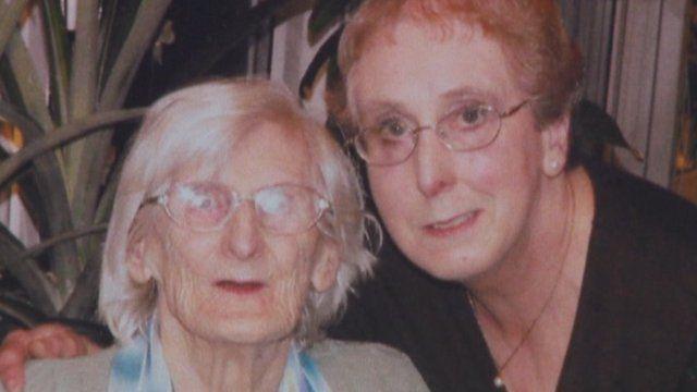 Kathleen and Wendy Clarke