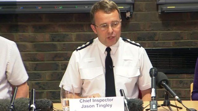 Chief Inspector Jason Tingley of Sussex Police