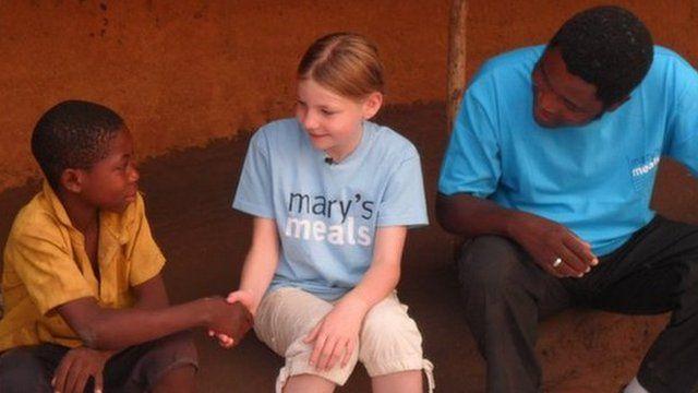 Martha Payne in Malawi