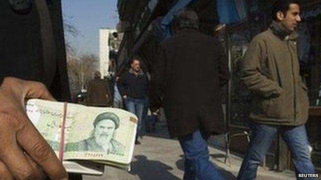 Money changer in Tehran