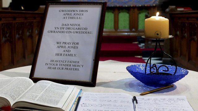 Church service for missing April Jones