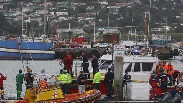 Scene of the rescue attempt