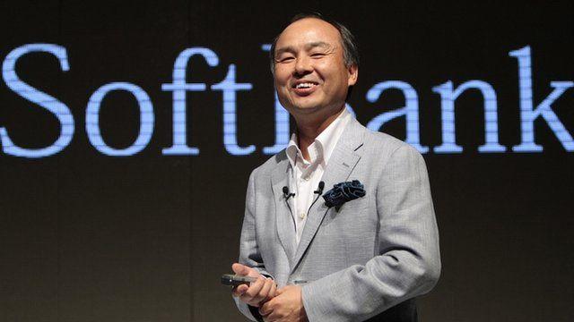 Softbank's Masayoshi Son