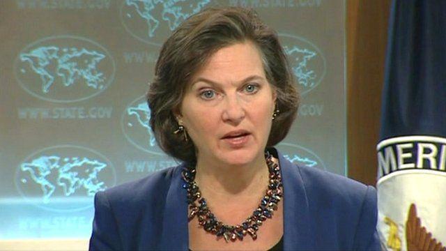 US State Department spokesperson Victoria Nuland