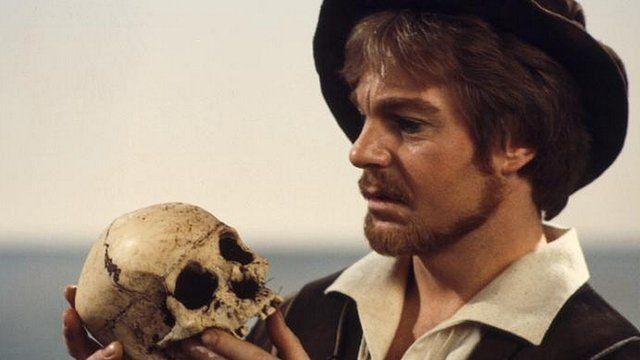Derek Jacobi in a BBC adaptation of Hamlet