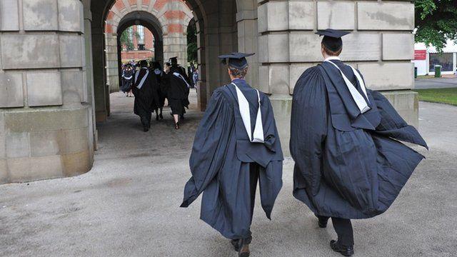 Graduates on Graduation Day at the University of Birmingham