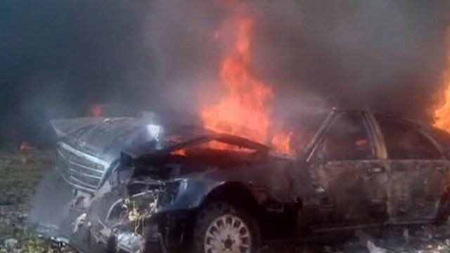 Car bomb attack in central Beirut