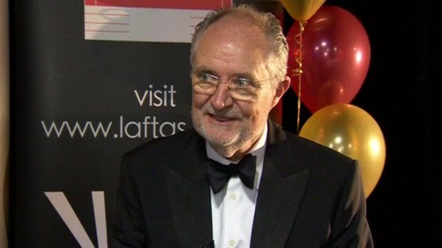 Jim Broadbent is the host of Lincolnshire's version of the Oscars for young filmmakers