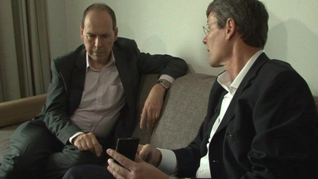Rory Cellan-Jones and Thorsten Heins