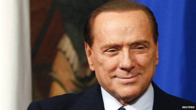 Silvio Berlusconi - file photo