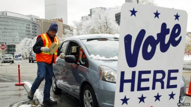 Early voting in Denver