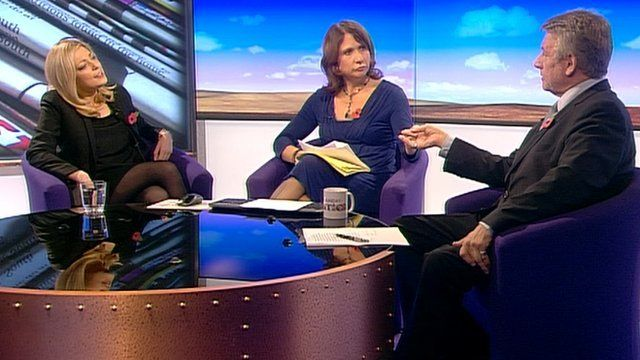 Charlotte Harris, Jo Coburn and Neil Wallis