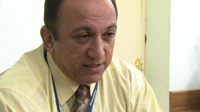 Iraqi child psychiatrist Dr Haidar al-Maliki