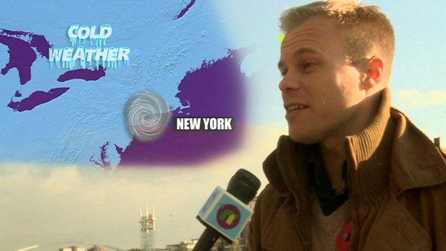 Hurricane Sandy Explained By BBC Weatherman Simon King CBBC - Nyc bbc weather