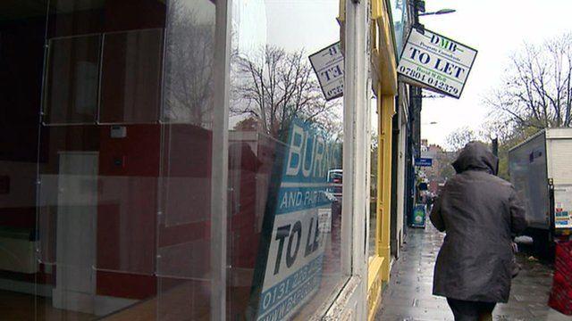 Empty shop premises