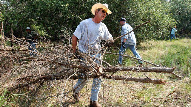 George Bush in Texas
