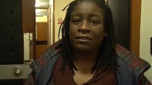 Idi Atiba's mother Rosemary O'Garrow
