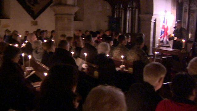 Vigil for Corporal David O'Conor