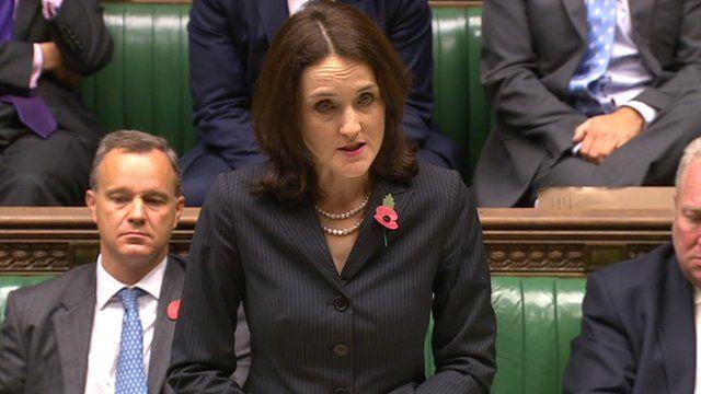 Northern Ireland Secretary Theresa Villiers