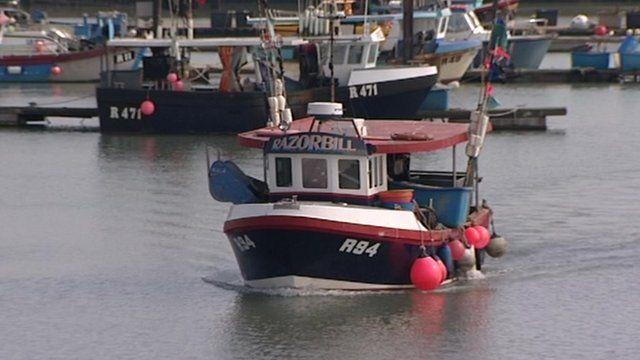 West Mersea fishing boat