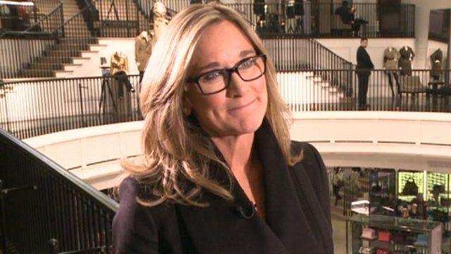 Burberry chief executive Angela Ahrendts