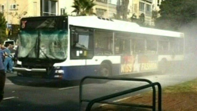 Bus in Tel Aviv