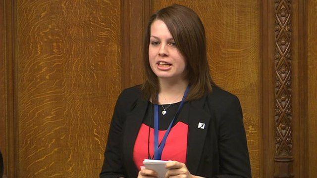 Youth Parliament debate