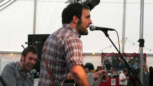 The Misers on the BBC Introducing stage at Wyeside