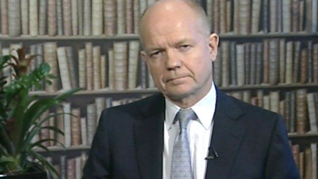 William Hague on The Andrew Marr Show