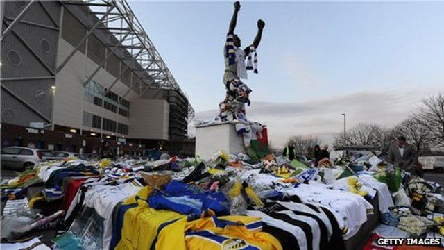 Tributes at Leeds United