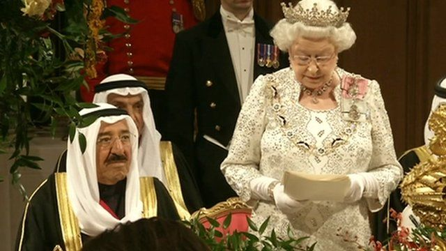 Emir of Kuwait and the Queen
