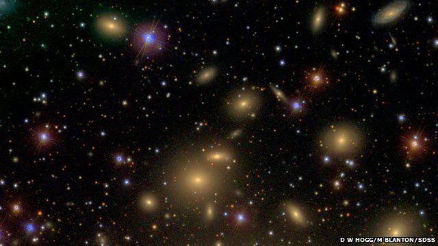 Perseus galaxy cluster