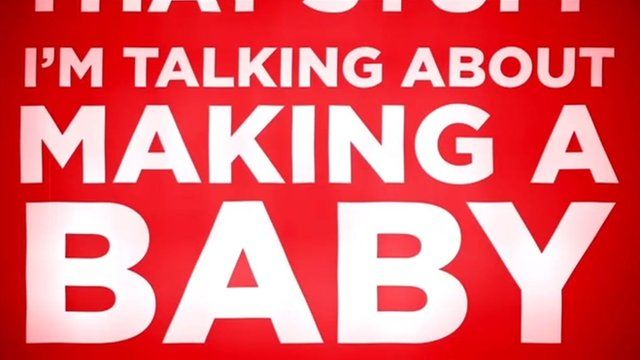 Image from baby making ad