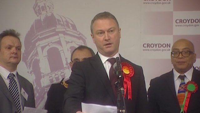 New Croydon North MP Steve Reed (Lab)