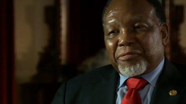 South Africa's Deputy President Kgalema Motlanthe