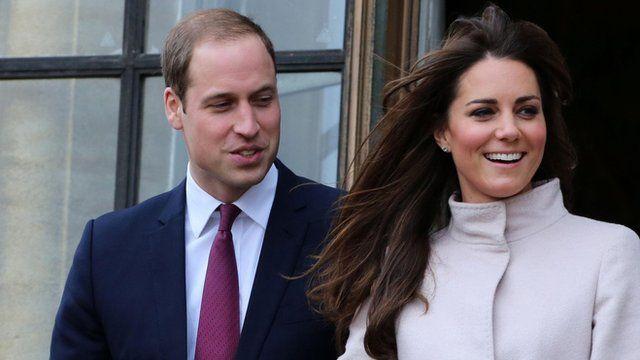 Duke and Duchess of Cambridge on 28 November 2011