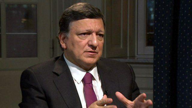 President of the European Commission Jose Manual Barroso