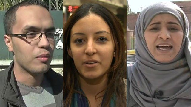 Interviewees from Egypt, Yemen and Algeria