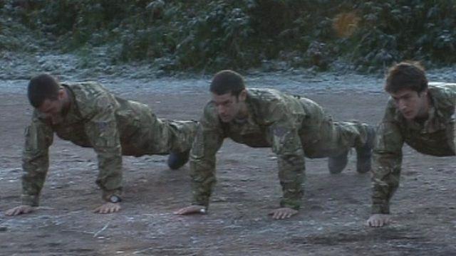Team GB rowers undertake Commando training in Devon