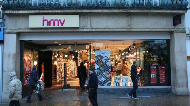 HMV store in Norwich