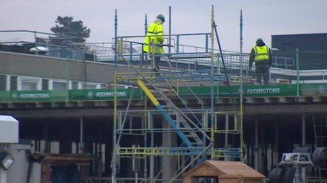 Building work at the Lister Hospital