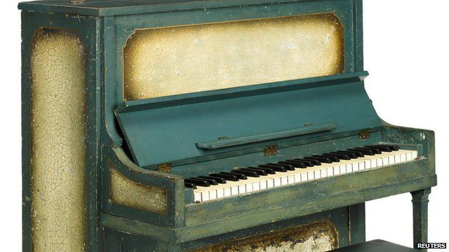 The piano from the film Casablanca