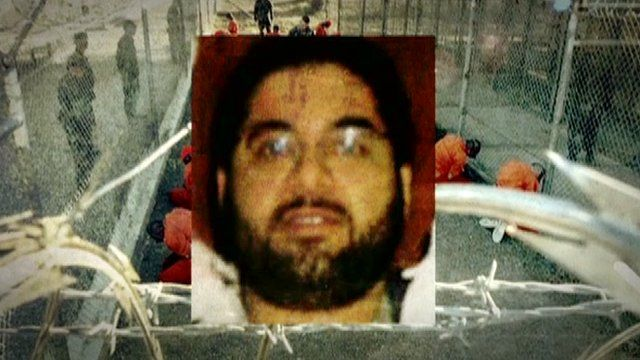Shaker Aamer, the last remaining British resident at Guantanamo Bay