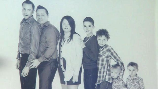 Tony and Barrie Drewitt-Barlow with their children
