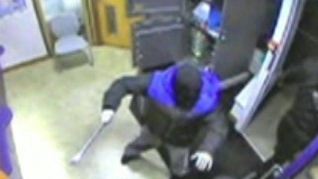 Armed robbery at Nationwide in Rothwell